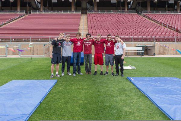 Stanford Men's Gymnastics Team